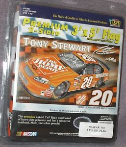 TONY-STEWART-20-NASCAR-Collectors-Signature-Edition-3x5-Premium-2-Sided-Flag