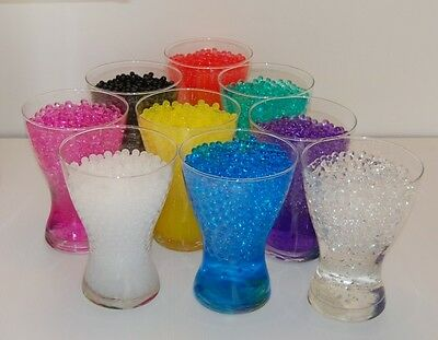 3D Crystal Soil Water Pearls Balls Beads Wedding Decoration centerpiece flower