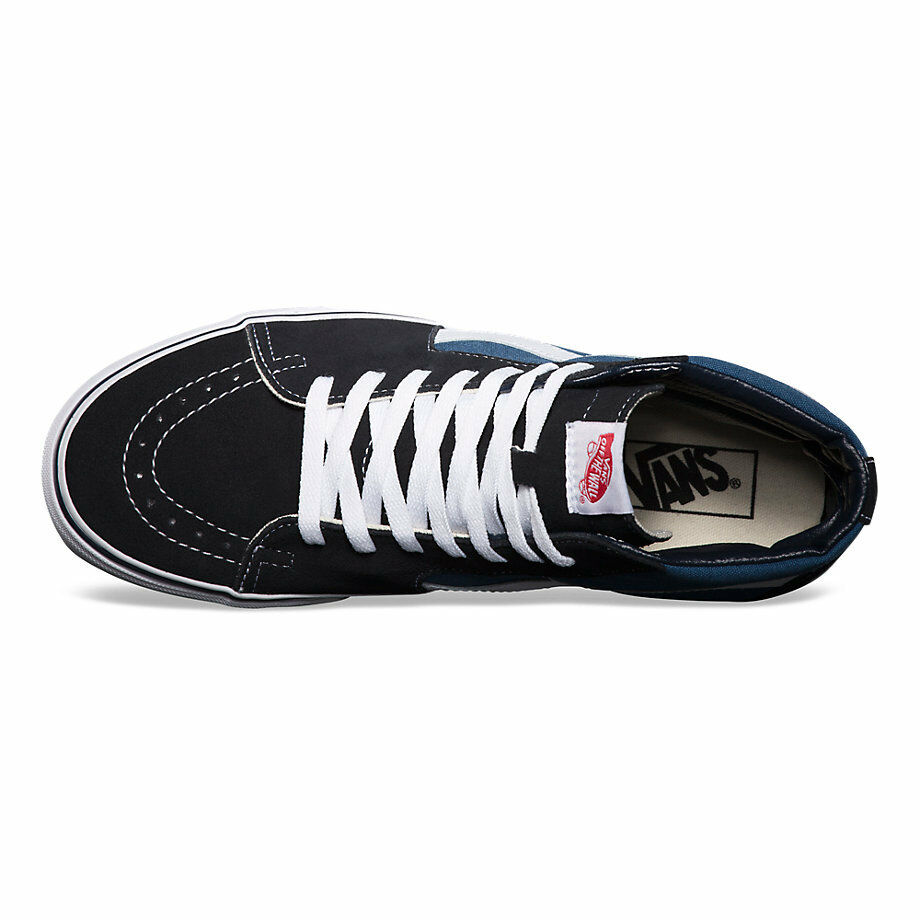 Vans SK8 SK8 SK8 HI Navy Skateboarding Shoes Classic Canvas  VN-0D5Invy All Sizes 4.5-13 d86046