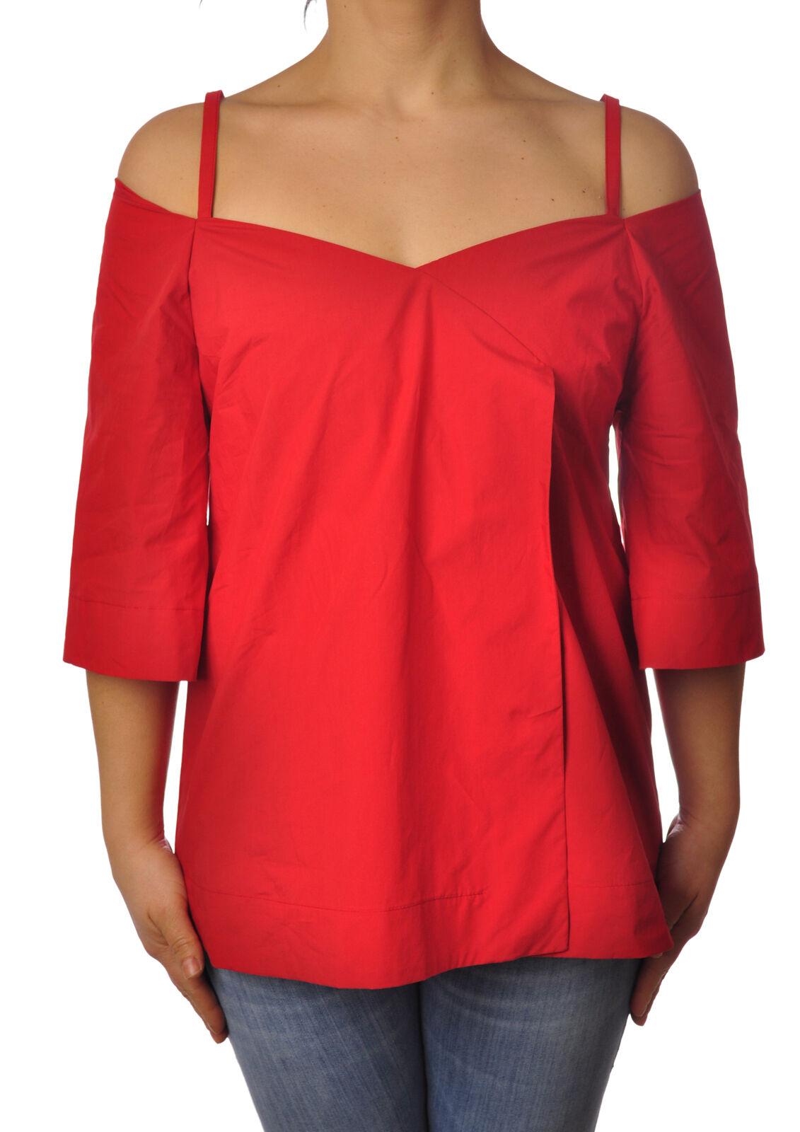 Ottod'ame - Shirts-Blouses - Woman - rot - 4955113F183832