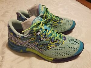 7cd80de7cf ASICS Gel Noosa Tri 10  90 Women s Running Shoes Size 7.5 Blue ...