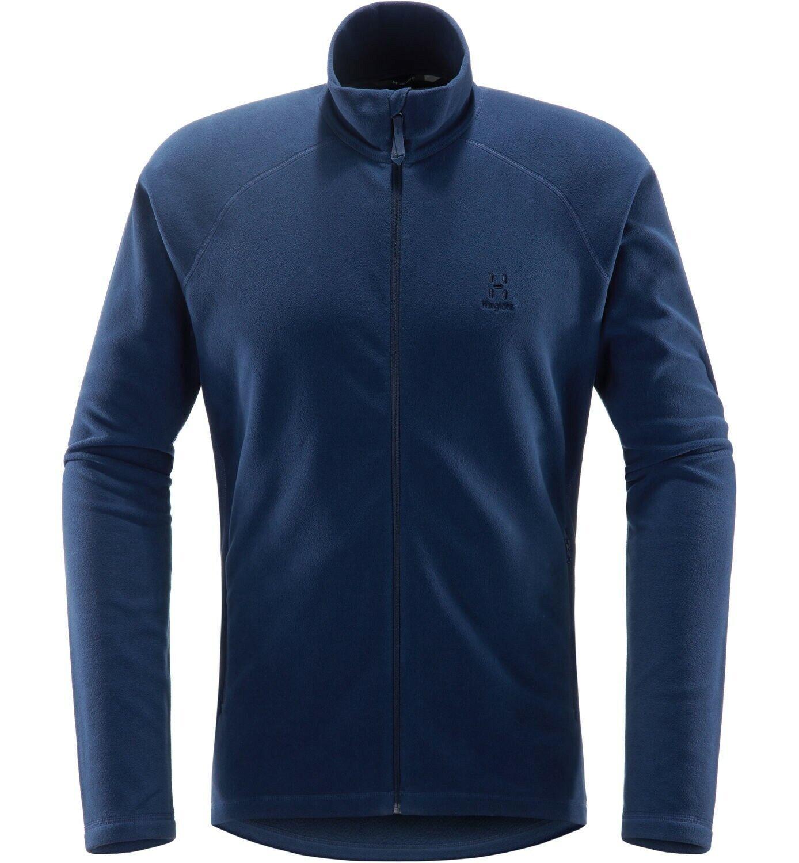 Haglöfs Astro Jacket Sie  leichte Fleecejacke für Herren  tarn Blau  Größe S