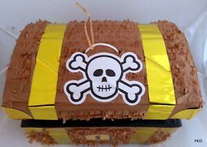 Treasure Chest Pinata Pirate Party Decoration Pinatas Birthday
