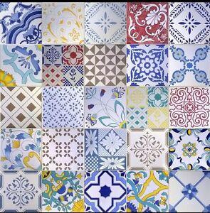 Ceram vietri patchwork piastrelle 20x20 serigrafate a - Made a mano piastrelle ...