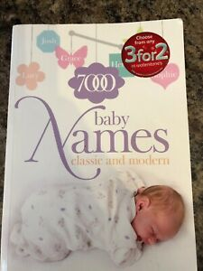 7000 Baby Names. Classic and Modern