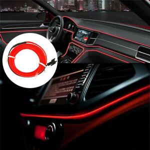 Auto-EL-Kabel-EL-Ambientebeleuchtung-Innenraumbeleuchtung-Lichtleiste-2m