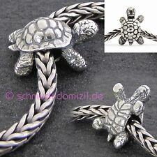 TROLLBEADS Silberbead Afrikanische Schildkröte - African Tortoise - 11293