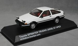 Kyosho Toyota Sprinter Trueno (corolle Ae86) Gt Apex En Blanc 03891uw 1/43 Nouveau 4548565312450