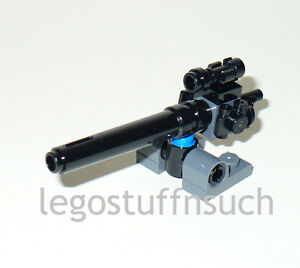 how to make a lego turret gun