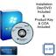 Windows-7-Professional-32-Bit-Chiave-di-prodotto-amp-disco-di-installazione-DVD-Versione-Completa