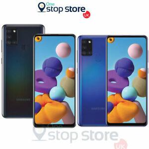 "Nuevo Samsung Galaxy A21s Dual Sim 6.5"" 4G 32GB Desbloqueado Teléfono inteligente Negro, Azul NFC"