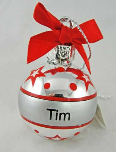 """Ganz Personalized Christmas Ornament Ball 1.5/"""" You Choose NEW"""