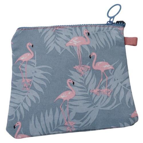 Women Girls Floral Sanitary Bag Holder Napkin Towel Pads Canvas Bags Organizer