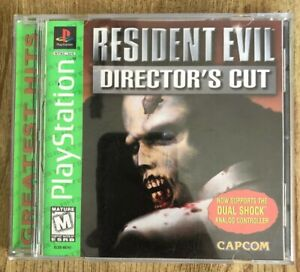 Resident-Evil-Director-s-Cut-Ps1-Playstation-1-Complete-W-box-amp-Manual