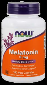 NOW-FOODS-Melatonin-3mg-180-Vegane-Kapseln-VERSAND-WELTWEIT