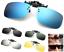Polarized-Clip-On-Flip-Up-Driving-Sunglasses-Day-Night-Vision-Mirror-UV400-Lens thumbnail 1