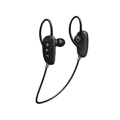 HMDX Jam Fusion Buds In-Ear Bluetooth Wireless Headphones Black Sports Earphones