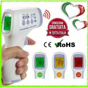 Termometro-a-infrarossi-frontale-senza-contatto-professionale-Bambino-Adulto