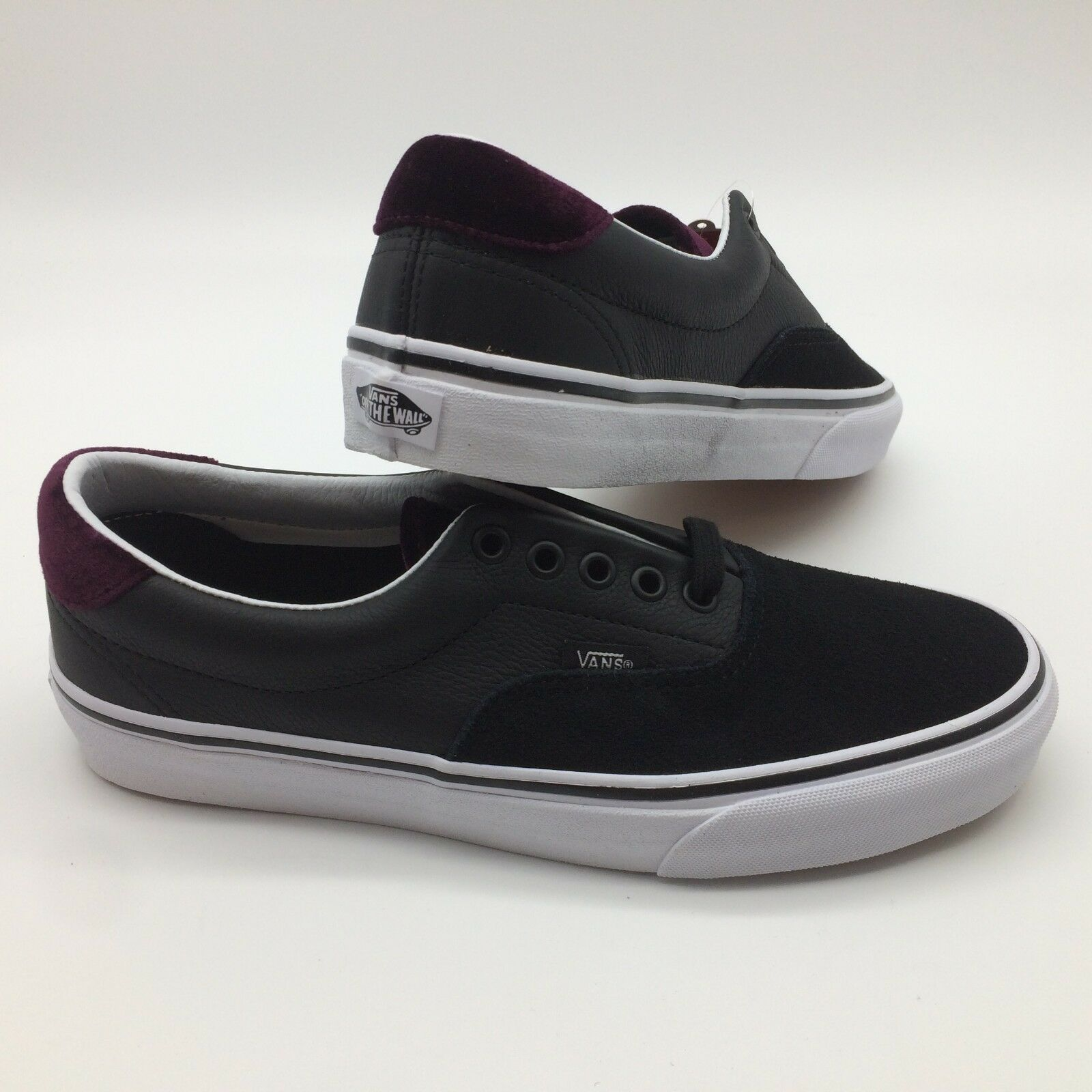 Vans Men's shoes   Era 59   (Velvet) Black Red