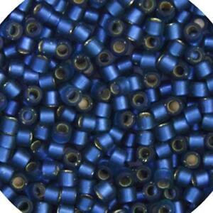 Delica 11//0 RD Capri Blue AB Matte