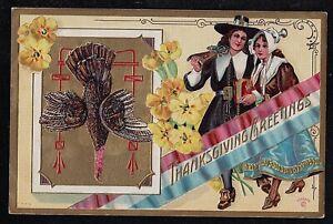 Vintage-Antique-Postcard-Thanksgiving-Greetings