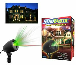 Startastic-Holiday-Light-Show-The-As-Seen-on-TV-Laser-Light-Projector-New