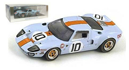 Spark S4069 ford GT40  10  JWA 'le mans 1968-hawkins hobbs 1 43 scale