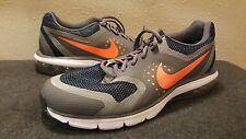 Nike Air Max Pre Run 789575-400 Black Grey Silver Mens SZ 11 Obsidian/Orange/Gr