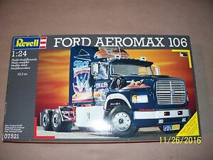 Revell 1/24 Ford Aeromax kit, factory sealed