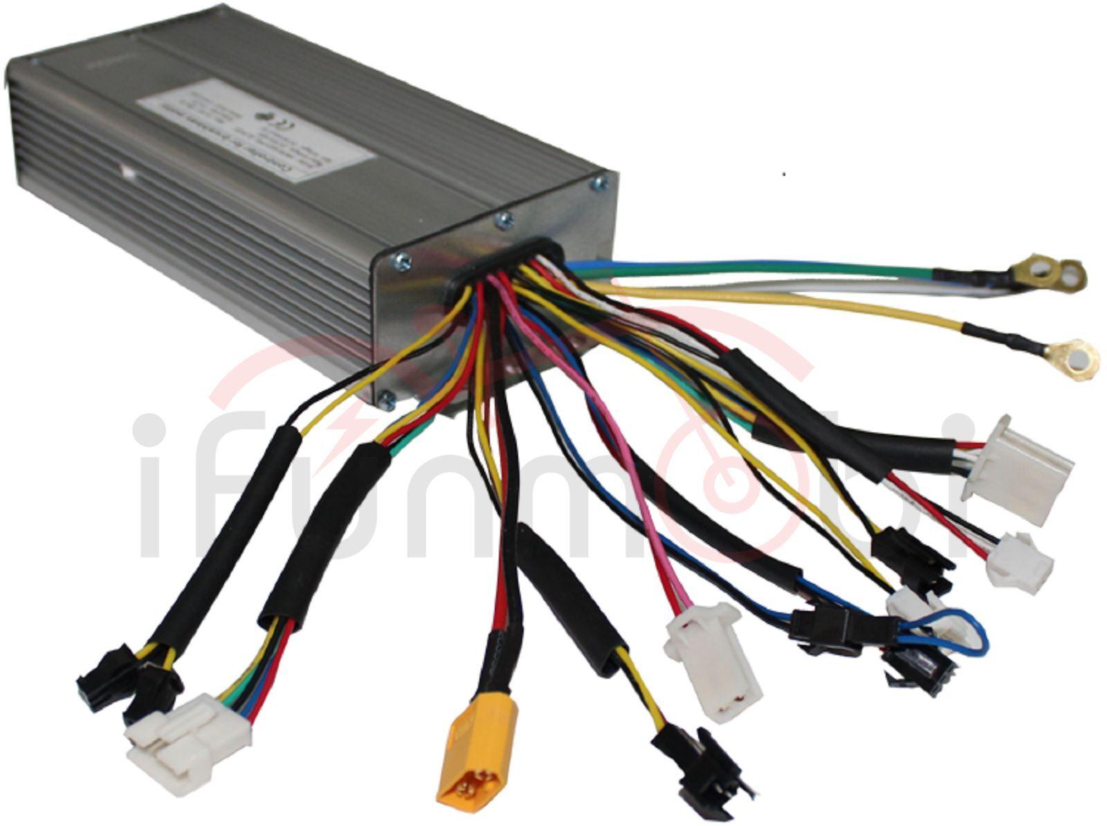 36V 48V 1500W Brushless DC Sine Wave Controller 12MOSFET 35A For Electric Bike