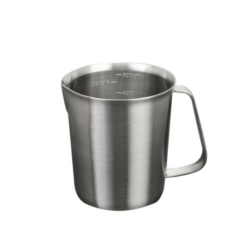 Stainless Steel Measuring Cup with Handle Silver Multi-purpose