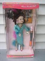 Vintage 1999 Brass Key Porcelain Doll Dancing Through The Centuries