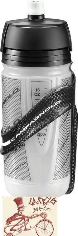 CAMPAGNOLO SUPER RECORD CARBON WATER BOTTLE WITH BOTTLE