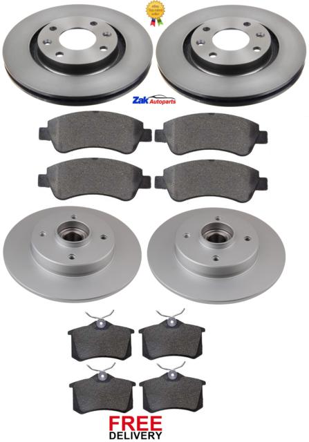 Focus 1.4 1.6 Front Rear Sport Brake Discs /& Pads 98-05