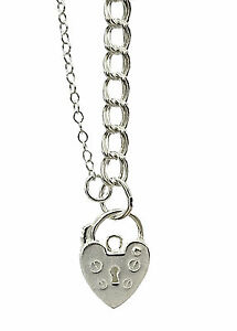 Solid Sterling Silver Double Link Charm Bracelet idea for CLIP ON CHARMS CZ60 T - <span itemprop=availableAtOrFrom>Southend on Sea, Essex, United Kingdom</span> - Purchases are protected by the Distance Selling Regulations, which give the buyer the right to cancel the purchase within 7 working days after the day that they receive the - Southend on Sea, Essex, United Kingdom