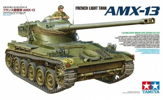 Tamiya 35349 - 1/35 French Light Tank Amx-13 - Neu