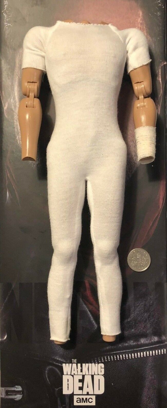 ThreeZero TWD The Walking Dead Negan 12  Nude Nude Nude Body loose 1 6th scale 09f130