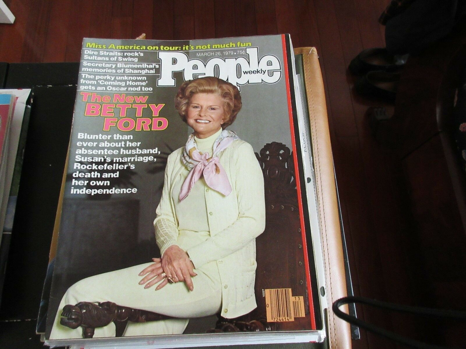 Betty Ford , PEOPLE MAGAZINE , 3/26/79 , Dire Straits ,