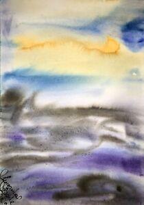 Malerei-PAINTING-zeichnung-Margarita-Bonke-Landscape-Landschaft-art-Aquarell-A3