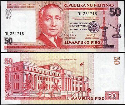 Philippines 50 Piso 2012 P-193d Unc