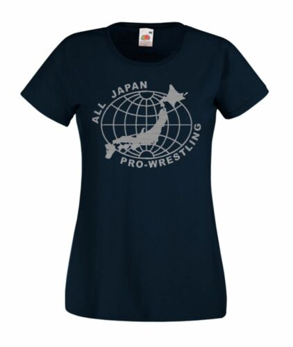 All Japan Pro Japanese Wrestling Retro Wrestling T Shirt