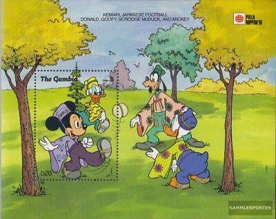 completa Edición Cheap Sale Gambia Bloque 121 Nuevo Con Goma Original 1991 Walt-disney-pe