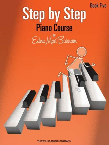 Step by Step Piano Course Book 5 NEW 000414846