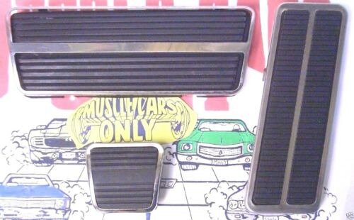 1969-1981 Camaro SS Firebird Nova Automatic Transmission Brake /& Gas Pedal Pads