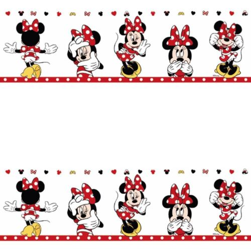 NEW GALERIE OFFICIAL DISNEY MINNIE MOUSE CHILDRENS NURSERY WALLPAPER BORDER