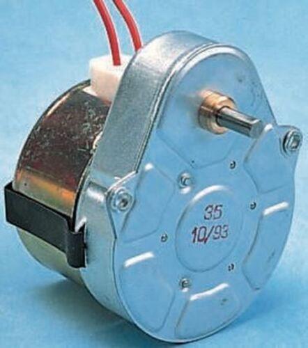 AC 230 V 3 W 1//2 tr//min Crouzet synchrone AC Motoréducteur horaire