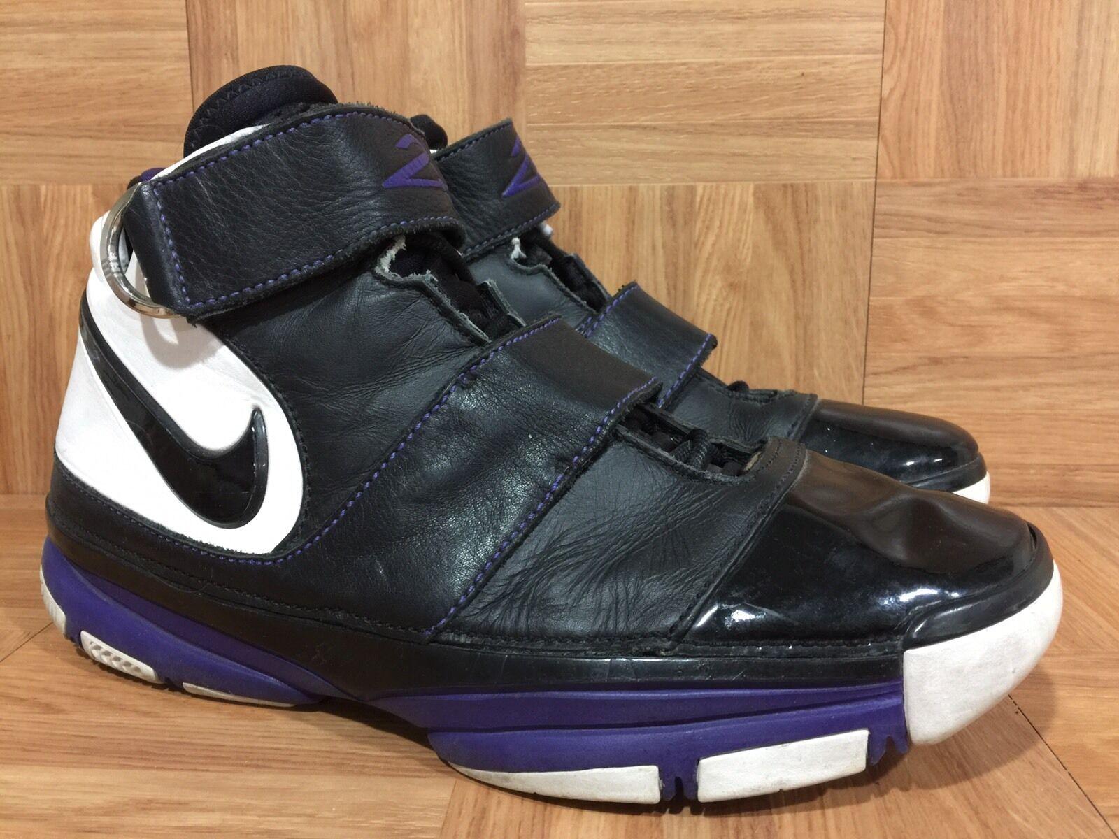 RARE  Nike Kobe 2 II Strength ST ORCA Patent Black Purple White 316835-001 S 11