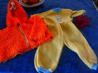 Poupon ,bella ,raynal ,gégé ,vintage Lot 3piéces ,jaune Et Orange
