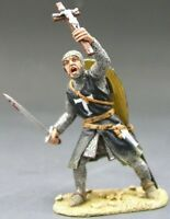 KING & COUNTRY MEDIEVAL KNIGHTS SARACEN MK003SE FOOT KNIGHT SWORD & CRUCIFIX MIB