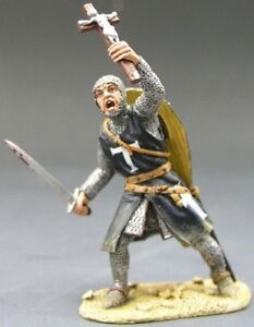 KING-COUNTRY-MEDIEVAL-KNIGHTS-SARACEN-MK003SE-FOOT-KNIGHT-SWORD-CRUCIFIX-MIB